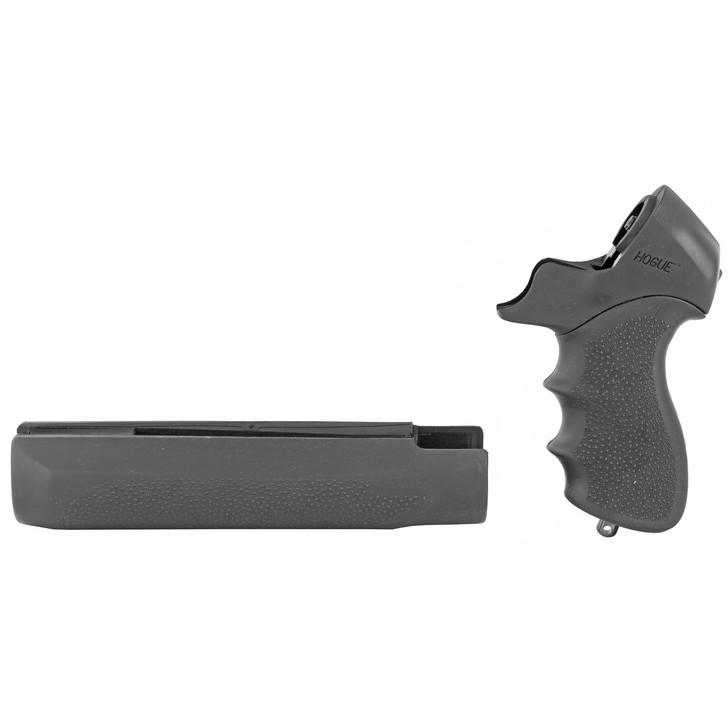 Hogue Tamer  Pistol Grip And Forend  Fits Mossberg 500  Finger Groove  Black 05015
