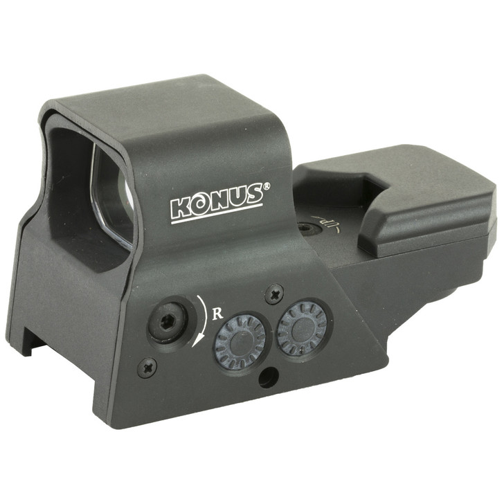 Konus Sight-Pro R8  Red Dot  Red/Green Dot with 8 Reticles  Matte Finish 7376