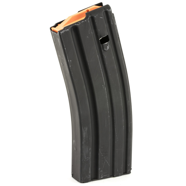 Ammunition Storage Components Magazine  223 Rem  Fits AR-15  30Rd  Stainless  Black 223-30RD-SS