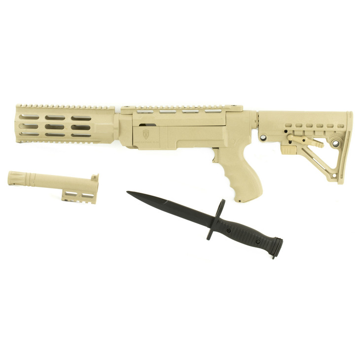 ProMag Archangel Stock  Fits Rug 10/22  6 Position  Tactical Magazine Release  Desert Tan AA556R-DT