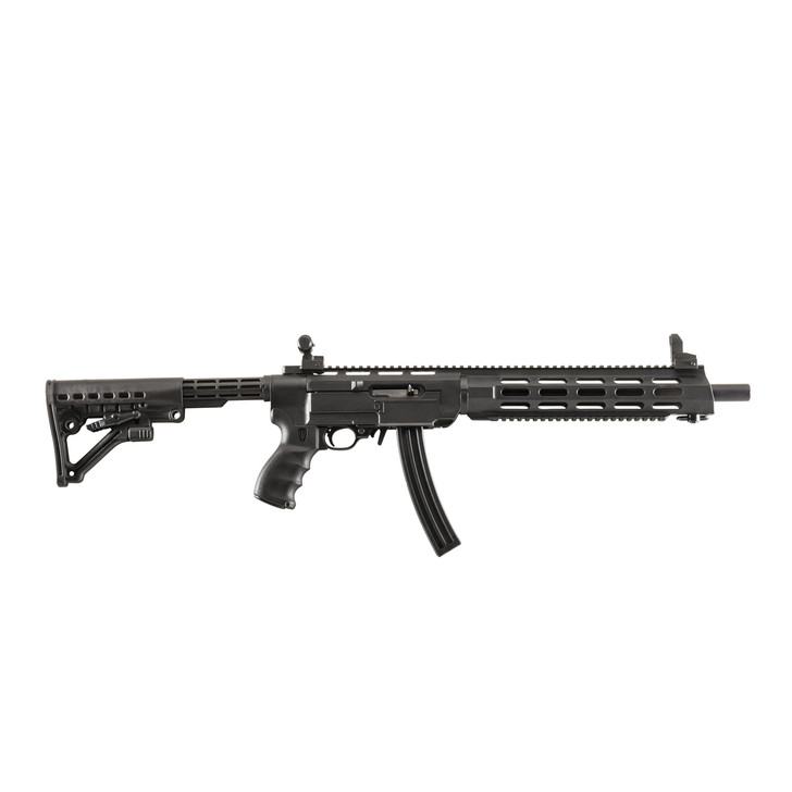 ProMag Archangel 556 Conversion Stock with Extended Length Monolithic Rail Forend  Fits 10/22  Black Finish AA556R-EX