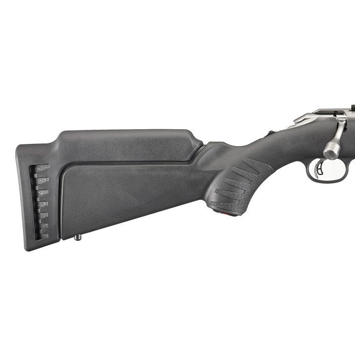 Ruger Stock Adapter  Fits Ruger American Rimfire  10/22 and any Ruger rifle w/the Modular Stock System  High Comb/Standard Pull  Black 90432