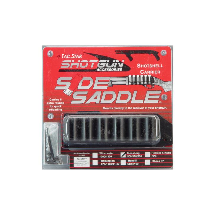TacStar Side Saddle  Fits 12 Gauge 6Rd Mossberg 500/590  Black 1081159