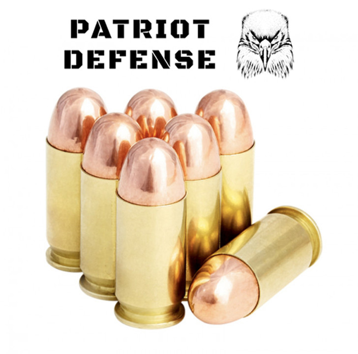 Patriot Defense 45ACP 230GR FMJ BRASS NEW - 125RDS  - LIMIT 1