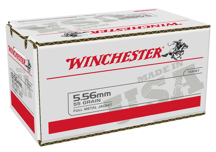 Winchester 5.56  55GR FMJ - USA556L2 - 200 Rounds - Limit 1