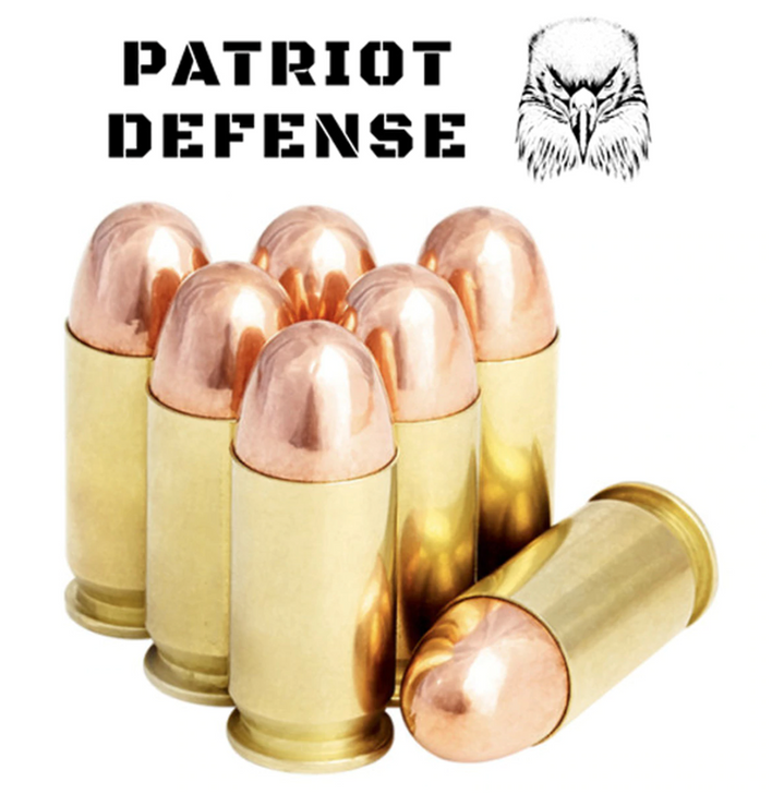 Patriot Defense 45ACP 230GR FMJ BRASS NEW - 50RDS  - LIMIT 3