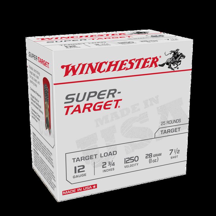 Winchester 12GA Super Target - Birdshot - 2-3/4 - 1oz - #7.5 - 25rd Box - TRGT12507
