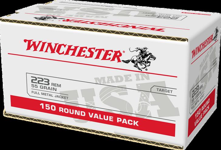 Winchester .223 55GR FMJ - USA223L2 - 200RD Box
