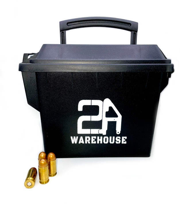 .45 ACP 230 GR TMJ - REMAN Brass - 200rds - FREE AMMO CAN