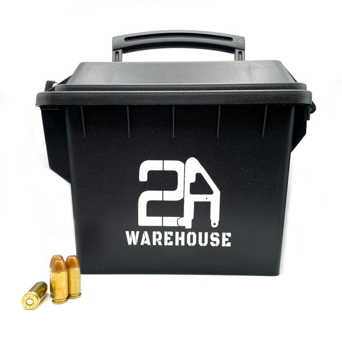 .40 S&W 180 GR TMJ - REMAN Brass - 200rds - FREE AMMO CAN