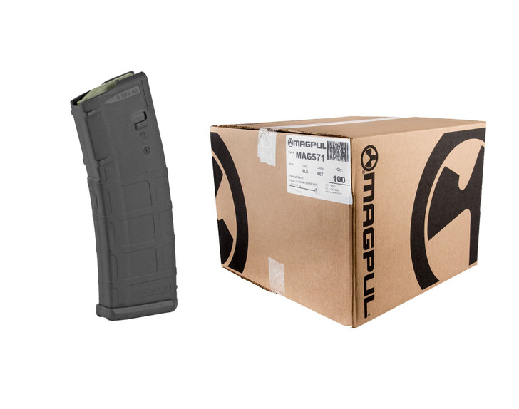 Magpul PMAG GEN2  223/556 30Rd Fits AR15 - Black - MAG571BLK - 100 Pack Case