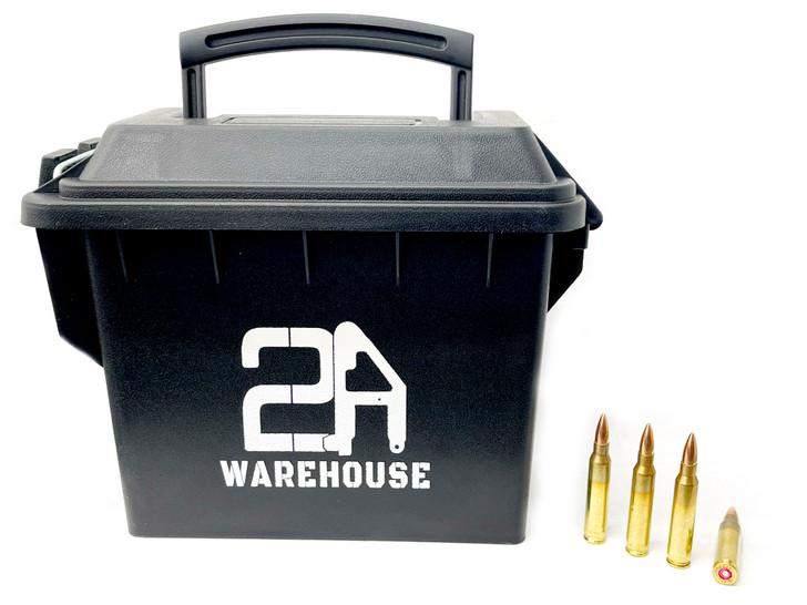 Capital Cartridge  .223 Rem 55GR FMJ -New Brass - 200rd Ammo Can