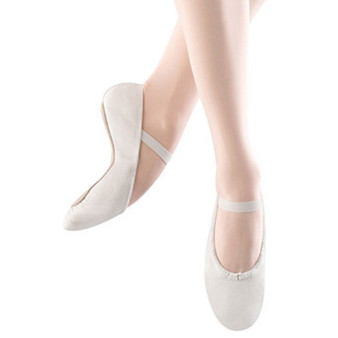 Bloch Dansoft Ladies White Leather Ballet Flat