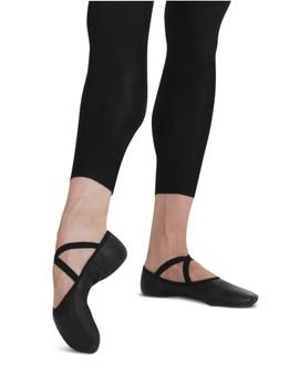 Capezio Leather Men's Romeo Ballet Shoe