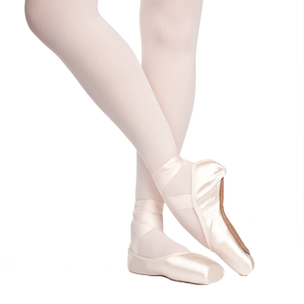 Rubin pointe shoes by Russian Pointe.