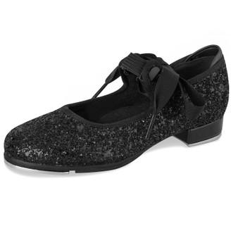Bloch Girls S0351G Glitter Tap Shoes