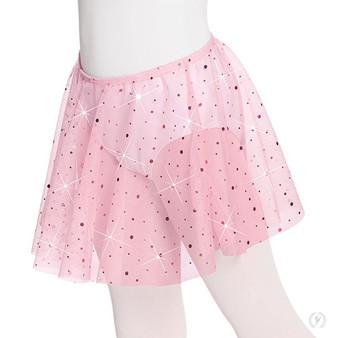 Child Sequin Pull On Skirt
