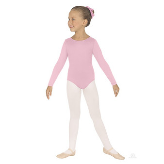 44265C Child Long Sleeve Basic Leotard