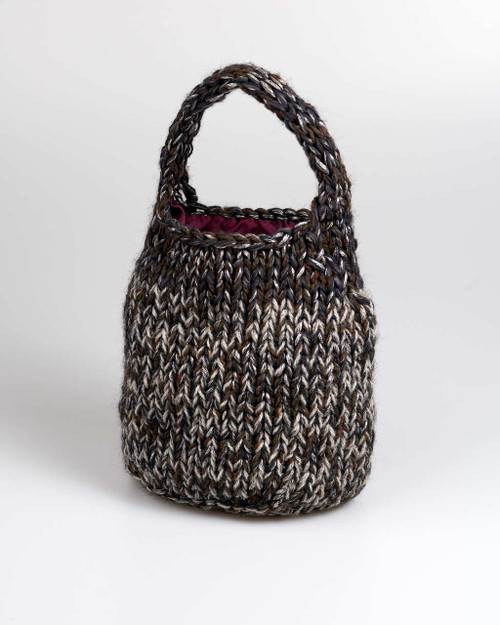 Black - Small Knitted Bag