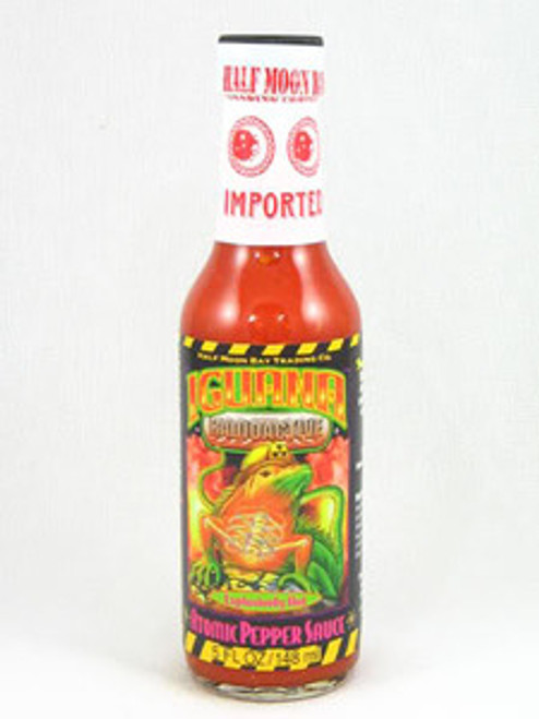 Iguana Radioactive Atomic Pepper Hot Sauce