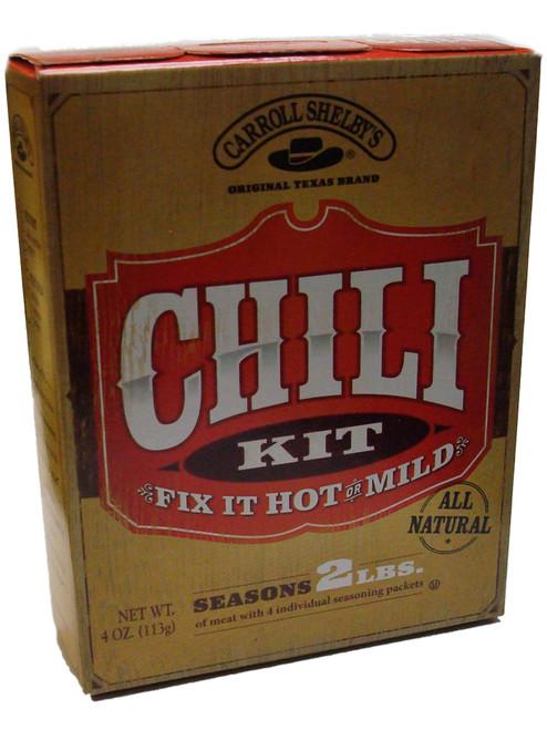 Carroll Shelby's Original Texas Brand Chili Kit
