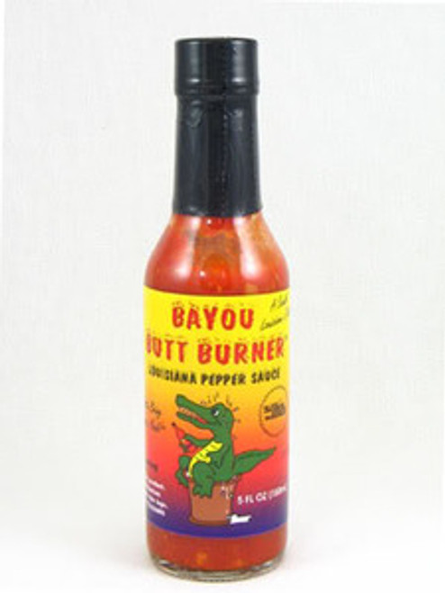 Bayou Butt Burner Louisana Pepper Hot Sauce