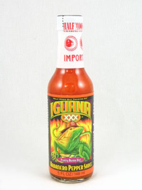 Iguana XXX Habanero Pepper Hot Sauce