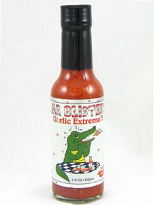 Mr. Blister's Garlic Extreme Hot Sauce