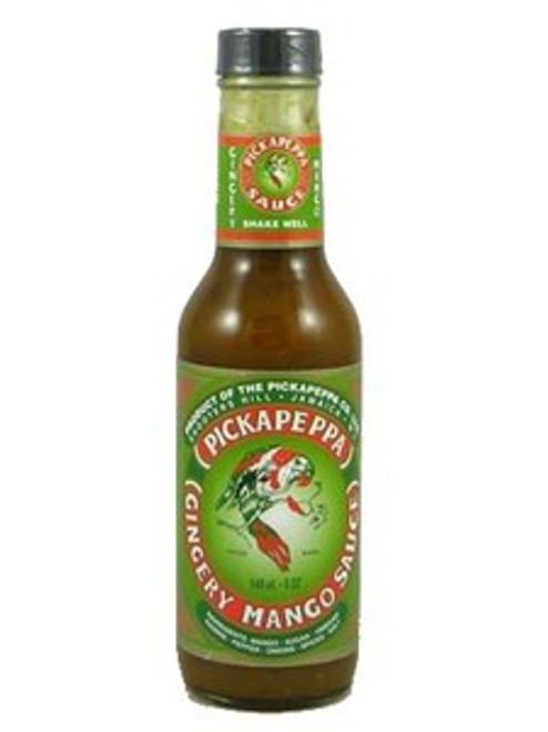 Pickapeppa Gingery Mango Hot Sauce