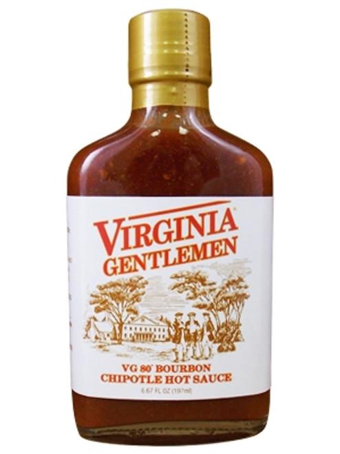 Virginia Gentleman VG 80 Bourbon Chipotle Hot Sauce