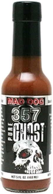 Mad Dog 357 Pure Ghost Jolokia Hot Sauce