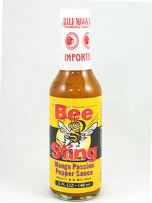 Bee Sting Mango Passion Peppa Hot Sauce
