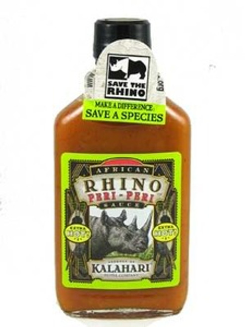 African Rhino Peri Peri Xtra Hot Pepper Hot Sauce