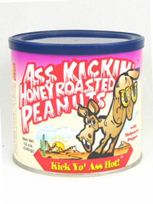 Ass Kickin Honey Roasted Peanuts