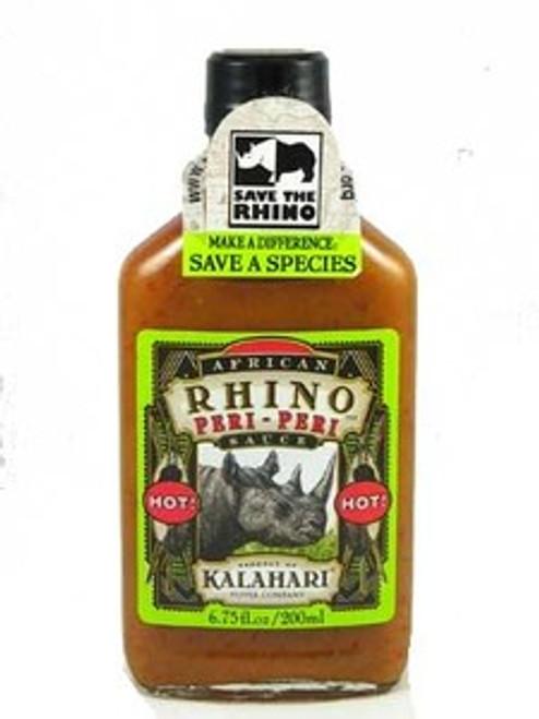 African Rhino Peri Peri Hot Pepper Sauce