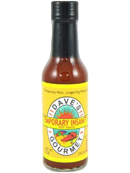 Dave's Temporary Insanity Hot Sauce