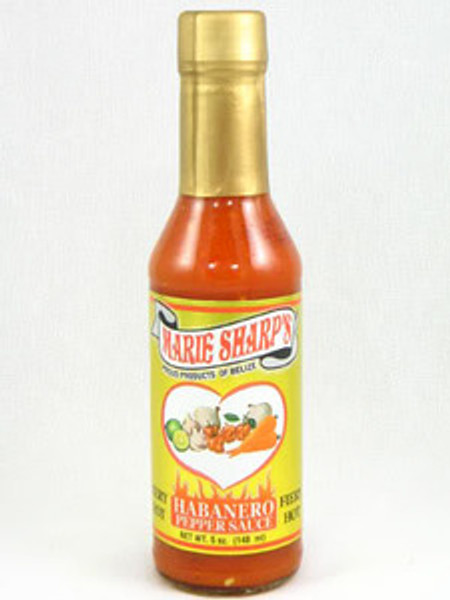 Marie Sharp's Fiery Habanero Hot Sauce   5 oz.