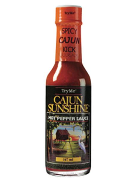 Try Me Cajun Sunshine Pepper Sauce