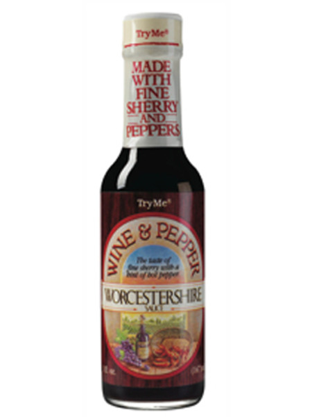 Try Me Wine & Pepper Worcestershire Sauce
