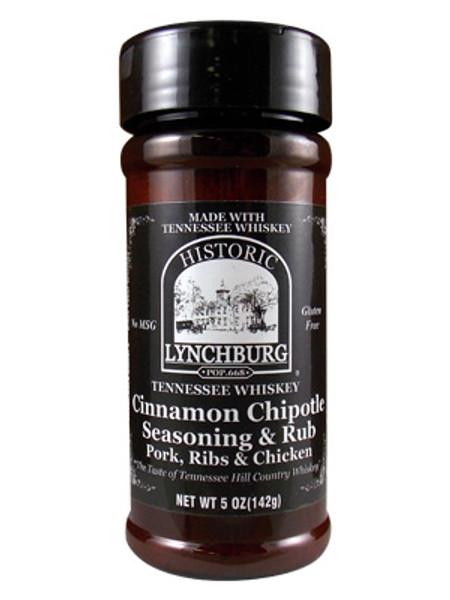 Historic Lynchburg Tennessee Whiskey Cinnamon Chipotle Seasoning
