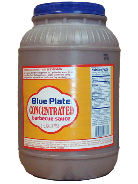 Blue Plate Concentrated Barbecue Sauce | 1 Gallon