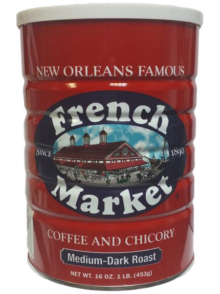 French Market Medium-Dark Roast Coffee and Chicory