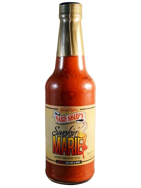 Marie Sharp's Smokin Marie Habanero Pepper Sauce | 10 oz.