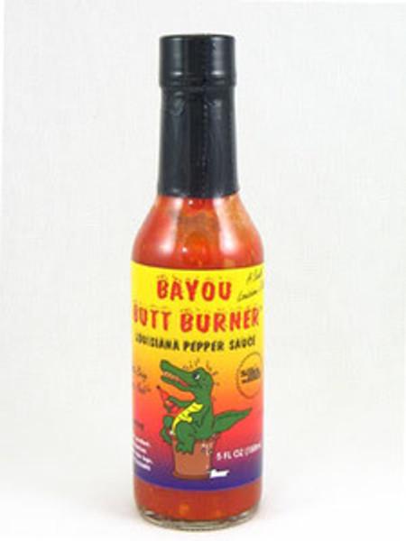 Bayou Butt Burner Louisana Pepper Hot Sauce