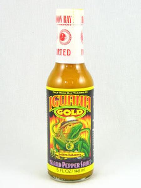 Iguana Gold Island Pepper Hot Sauce