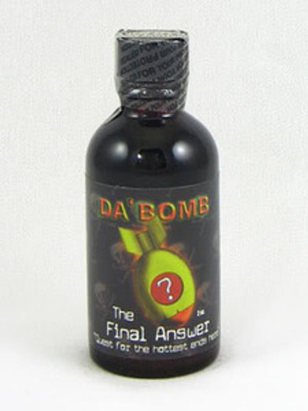 Da Bomb The Final Answer Hot Sauce