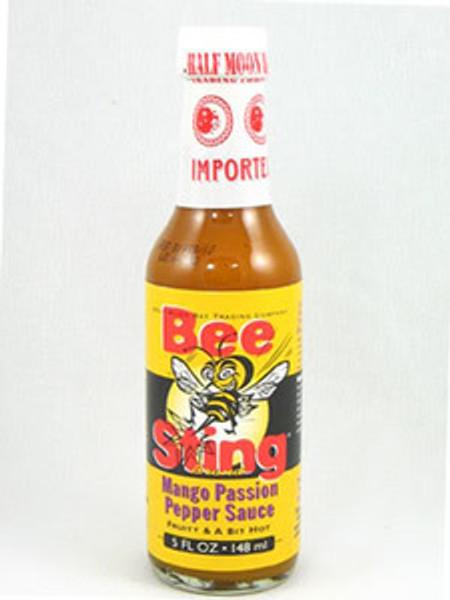 Bee Sting Mango Passion Peppa Hot Sauce