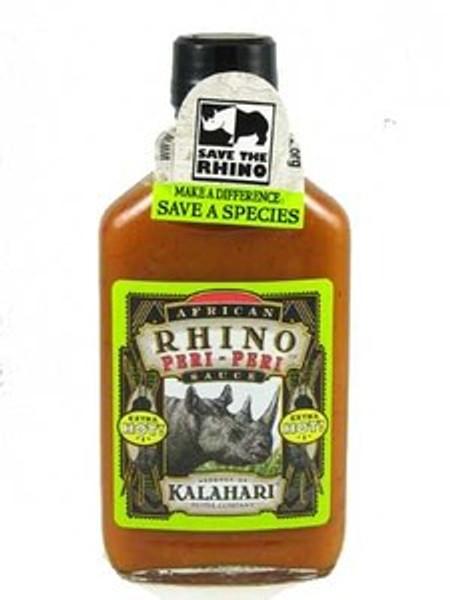 African Rhino Peri Peri Xtra Hot Pepper Hot Sauce