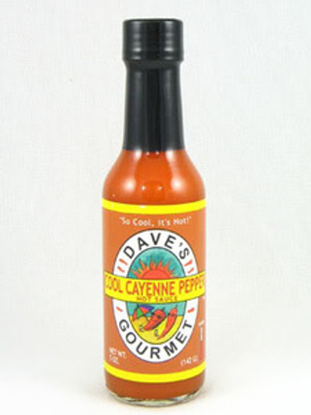 Dave's Cool Cayenne Pepper Hot Sauce