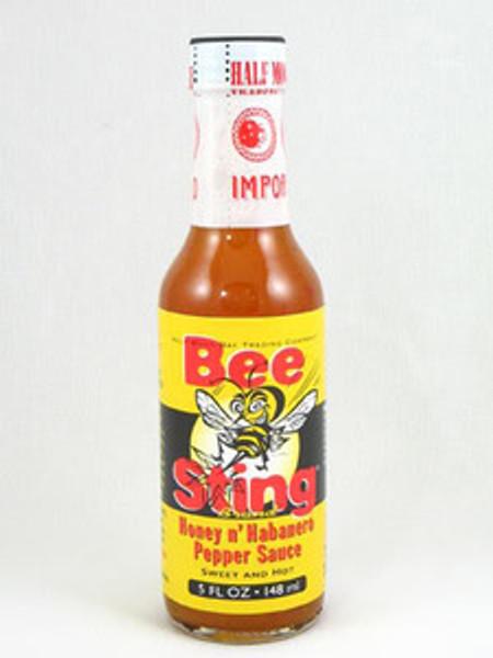 Bee Sting Honey n' Habanero Hot Sauce